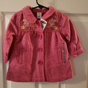 NWT Baby Girl's Old Navy Red Coat